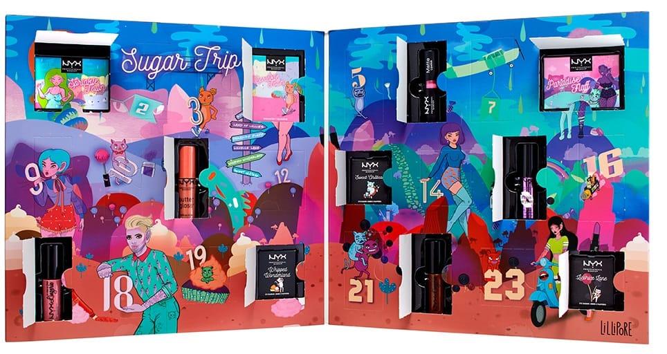 Nyx Calendario Avvento.Calendario Dell Avvento Nyx Professional Makeup Il