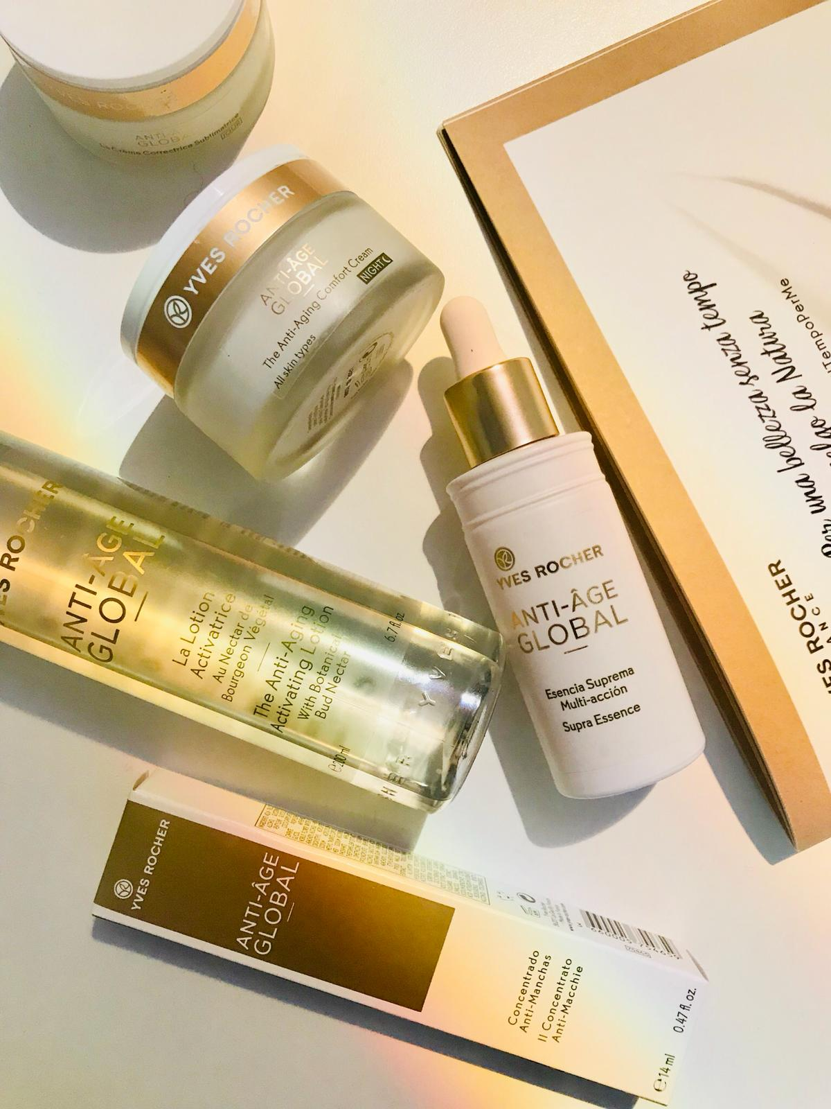 Anti Age Global La Cura Yves Rocher Recensioni